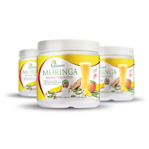 Refreshing Moringa Mint Instant Juice Mix