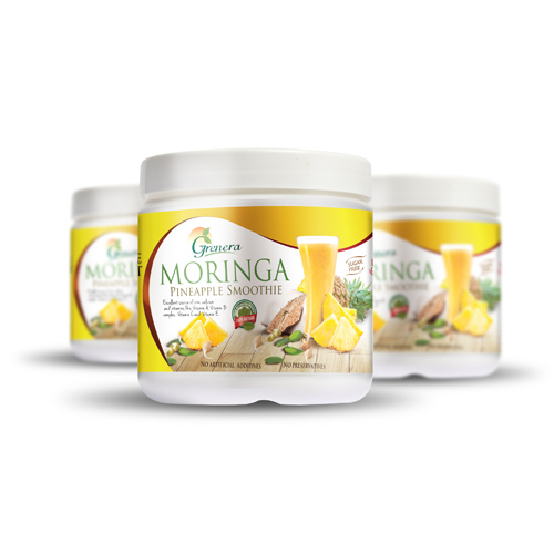 Moringa Pineapple Smoothie