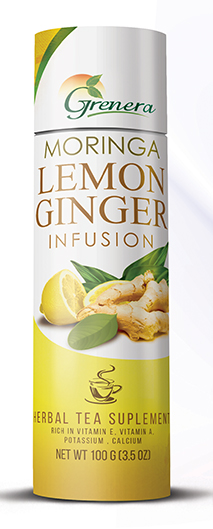 Moringa Lemon Ginger Loose Leaf Infusion